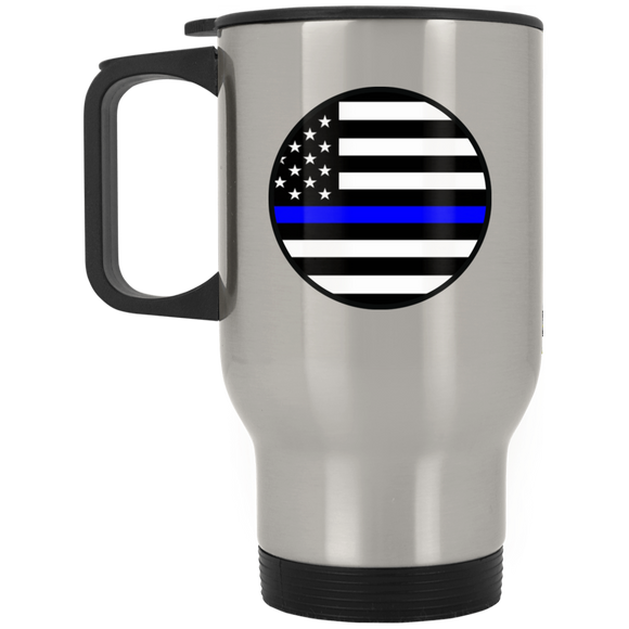 blm circle XP8400S Silver Stainless Travel Mug
