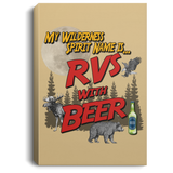 RVs with Beer 2500x3000 CANPO75 Portrait Canvas .75in Frame
