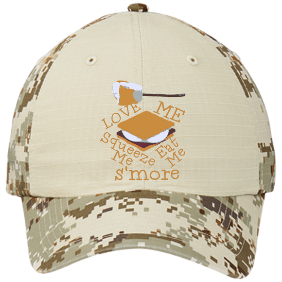 S'more Colorblock Digital Camouflage Cap