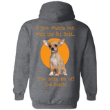 Run With Big Dogs G185 Gildan Pullover Hoodie 8 oz.
