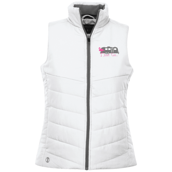Just go flamingo 229314 Holloway Ladies' Quilted Vest