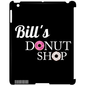 Bill's Donut iPad Clip Case