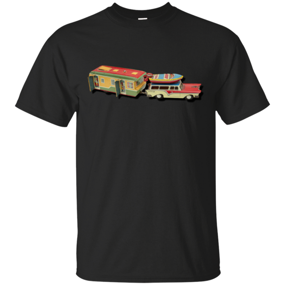Camping Vintage G200 Gildan Ultra Cotton T-Shirt