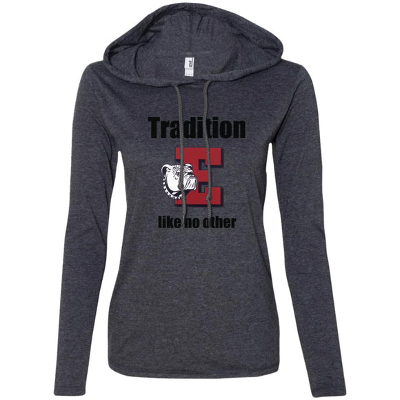 Easton Red Rovers Tradition Anvil Ladies' LS T-Shirt Hoodie