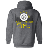 I live on Adventure Time2 G185 Gildan Pullover Hoodie 8 oz.