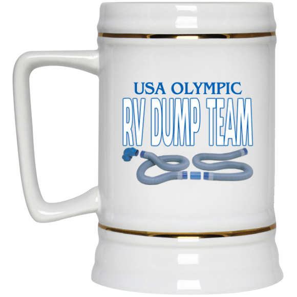 Olympic Dump Team Beer Stein - 22 oz