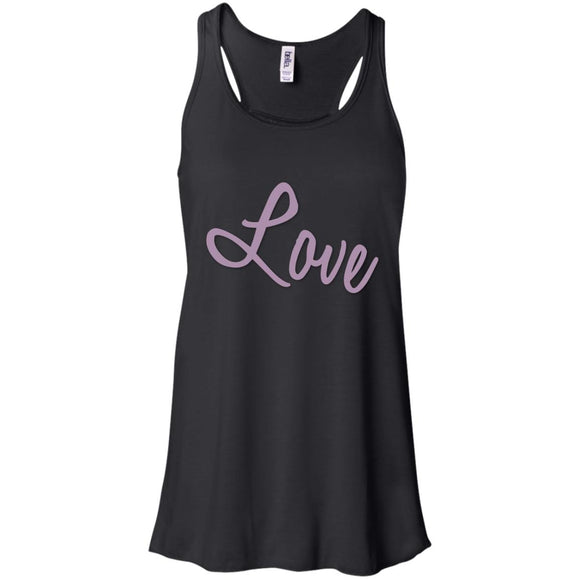 love B8800 Bella + Canvas Flowy Racerback Tank