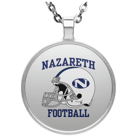NAZ FOOTBALL UN4686 Circle Necklace