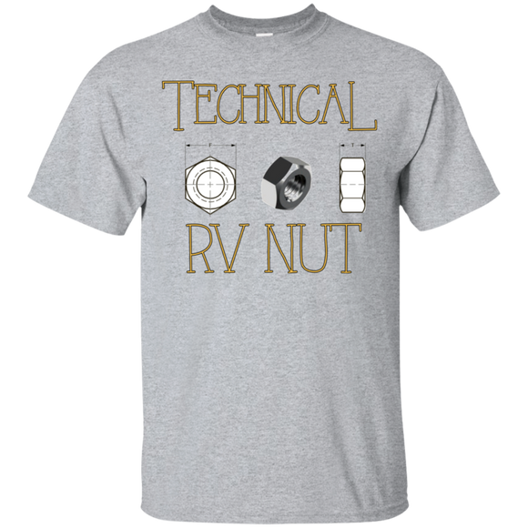 Technical rv nut G200 Gildan Ultra Cotton T-Shirt
