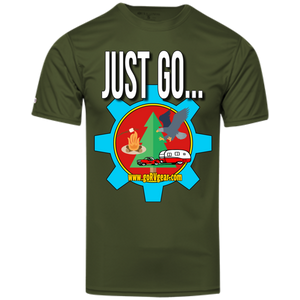 Just Go Youth Holloway Polyester Tee