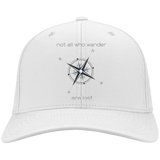 Not All Who Wander Personalized Twill Cap