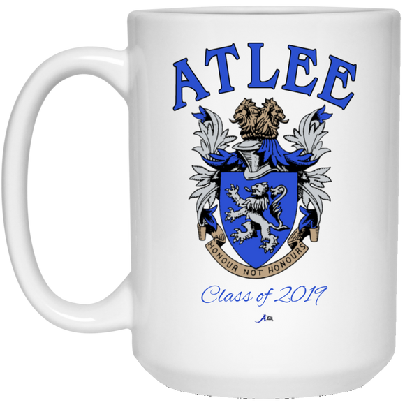 Atlee Crest Personalized 21504 15 oz. White Mug