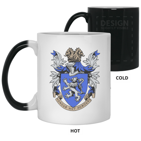 Atlee coat of arms 21150 11 oz. Color Changing Mug