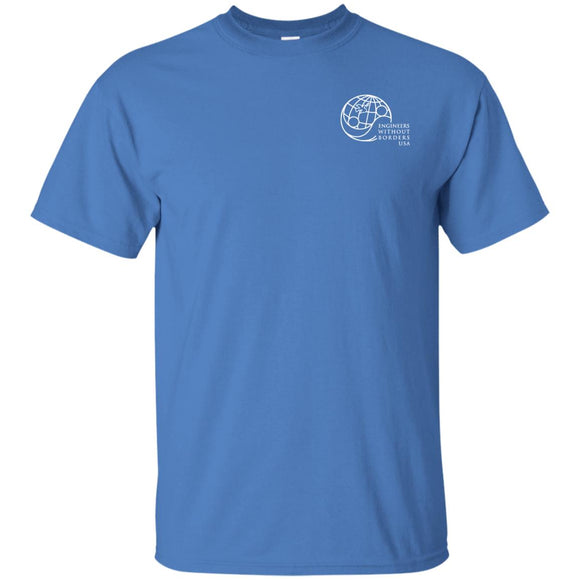 New! EWB Light Blue Globe G200 Gildan Ultra Cotton T-Shirt