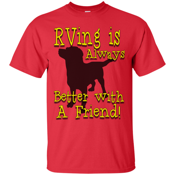 Better With A Friend Custom Ultra Cotton T-Shirt