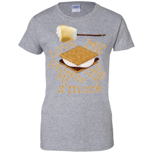 S'more Ladies Custom 100% Cotton T-Shirt