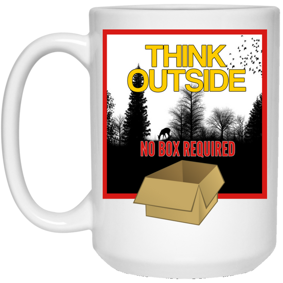 Think Outside Mug - 15oz