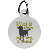 Better with a Friend Circle Pet Tag