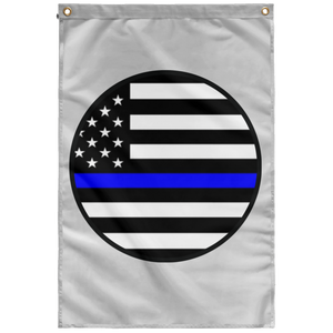 blm circle SUBWF Sublimated Wall Flag