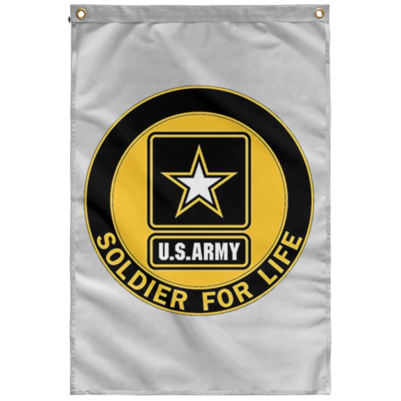Soldier for life T SUBWF Sublimated Wall Flag