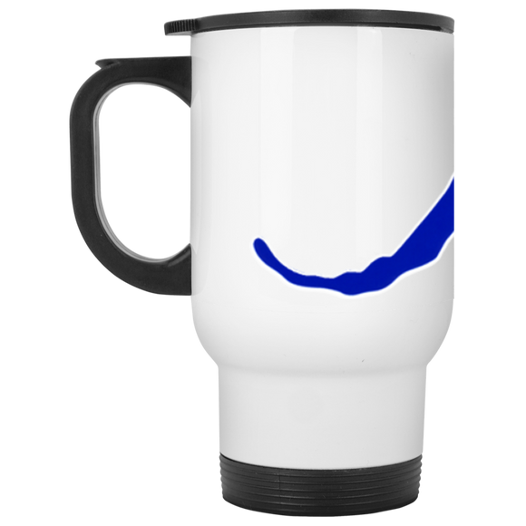 raiders a flag XP8400W White Travel Mug