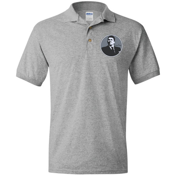 Reagan Gray Circle G880 Gildan Jersey Polo Shirt