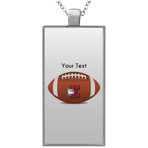 Easton football UN4682 Rectangle Necklace