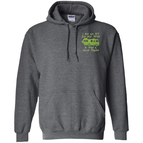 Rv for wife G185 Gildan Pullover Hoodie 8 oz.