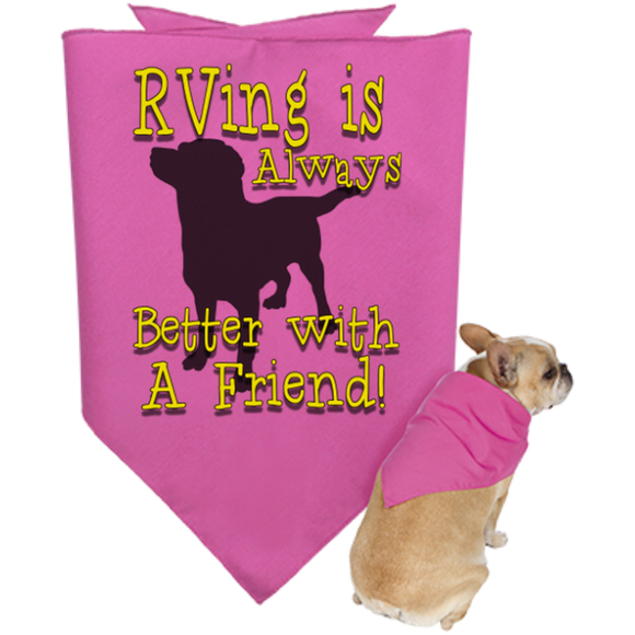 Better with a Friend Doggie Bandana