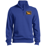 be golden TST253 Sport-Tek Tall 1/4 Zip Sweatshirt