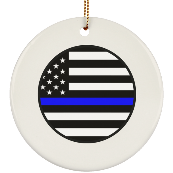blm circle SUBORNC Ceramic Circle Ornament