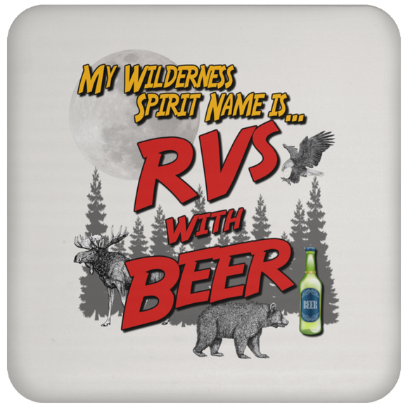RVs with Beer 2500x3000 UN5677 Coaster