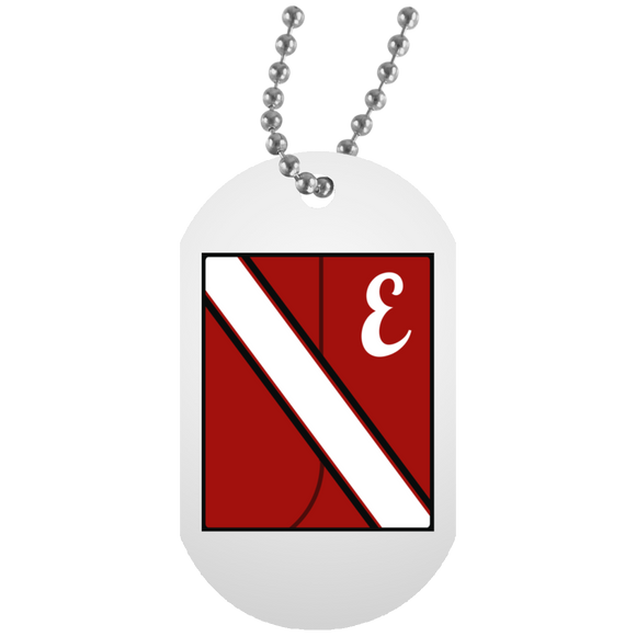 Easton Band Uni Block UN5588 White Dog Tag