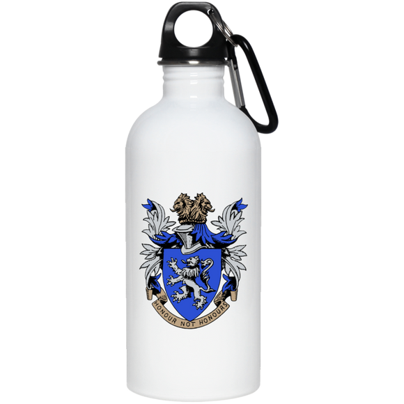 Atlee coat of arms 23663 20 oz. Stainless Steel Water Bottle