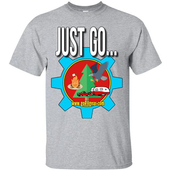 Just Go Youth Custom Ultra Cotton Tee