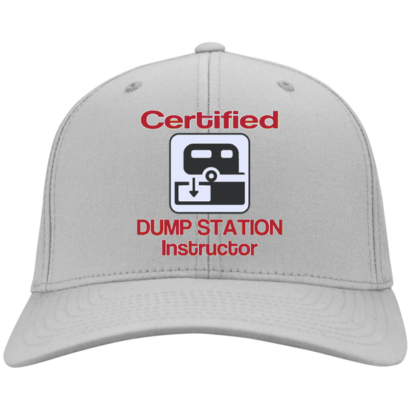 Certified Dump Instructor Personalized Twill Cap