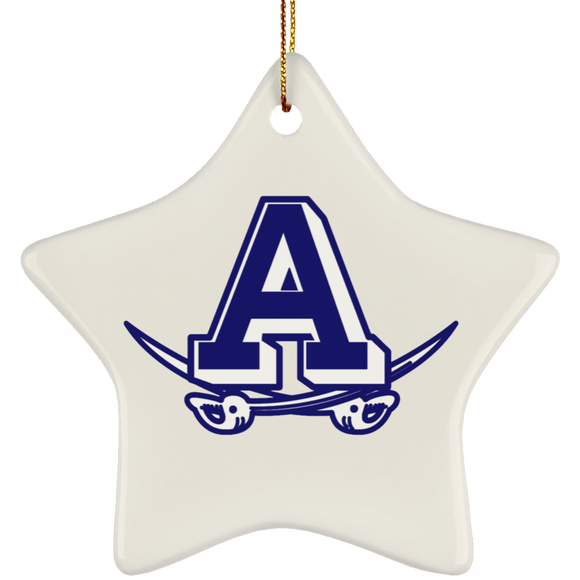 atlee swords SUBORNS Ceramic Star Ornament