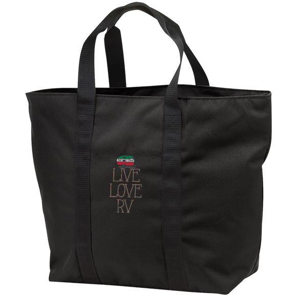 Live Love All Purpose Tote Bag