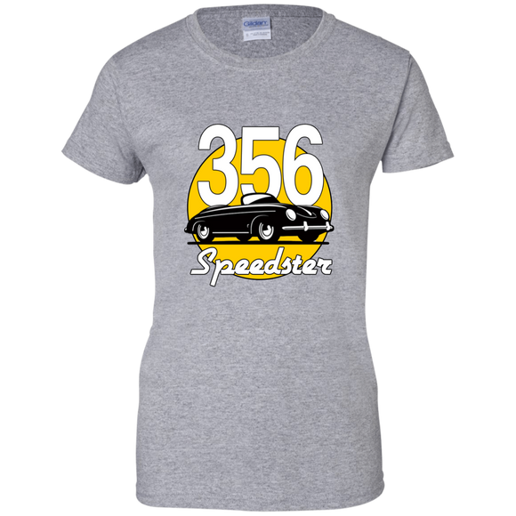 Speedster meatball G200L Gildan Ladies' 100% Cotton T-Shirt