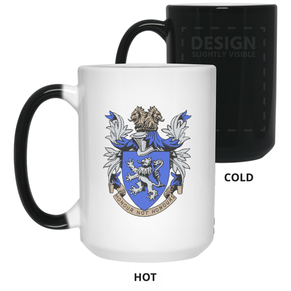 Atlee coat of arms 21550 15 oz. Color Changing Mug