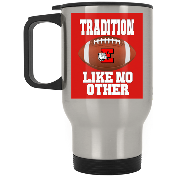 Easton Red Rover Tradition Silver Stainless Travel Mug