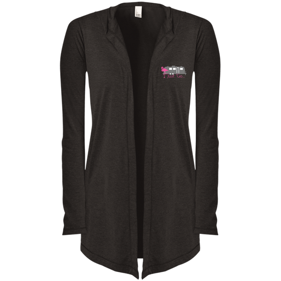 Just go flamingo DT156 District Women's Hooded Cardigan