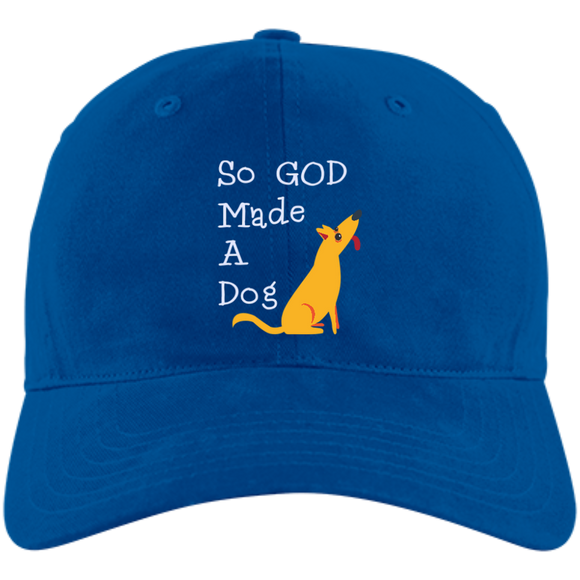 So God Made A Dog A12 Adidas Unstructured Cresting Cap