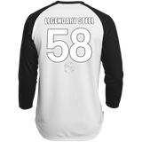 Legendary Men of Steel 58 Polyester Game Baseball Jersey