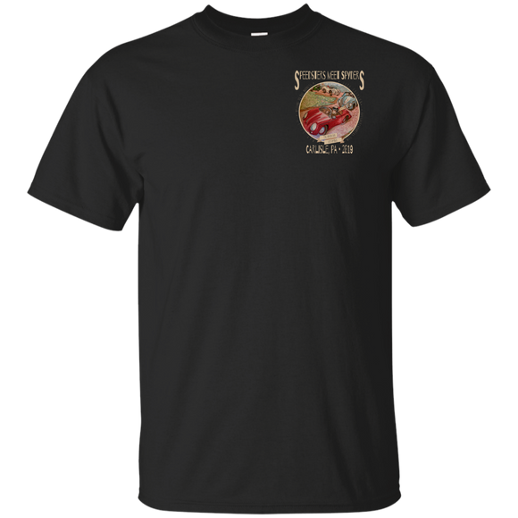 Speedsters Meet Spyders Dark Personalize G200 Gildan Ultra Cotton T-Shirt