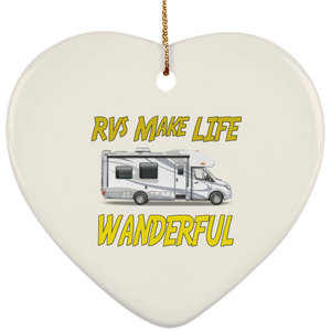 Wanderful SUBORNH Ceramic Heart Ornament