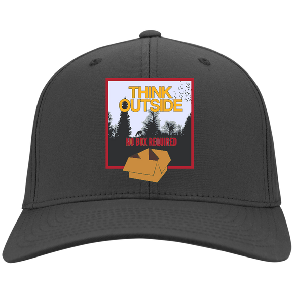 Think Outside Twill Cap