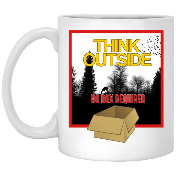 Think Outside 11 oz. Mug