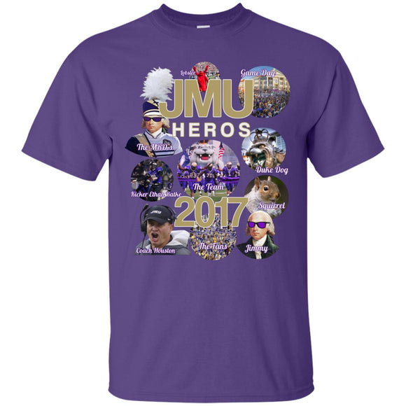 JMU Heros G200 Gildan Ultra Cotton T-Shirt