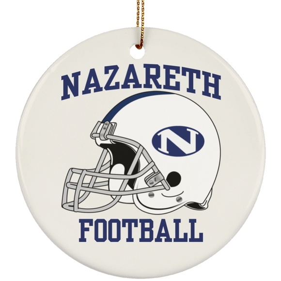 NAZ FOOTBALL SUBORNC Ceramic Circle Ornament